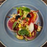 Salade de tomate d'héritage images stock