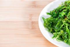 Salade de varech Photographie stock libre de droits
