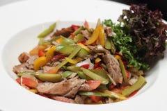 Salade de viande images libres de droits