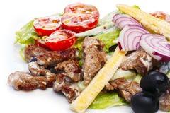 Salade de viande Image stock