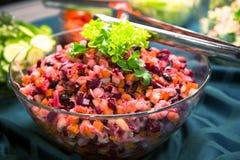 Salade de Vinaigrette images libres de droits