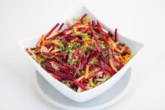 Salade des betteraves et des carottes fraîches Photos libres de droits