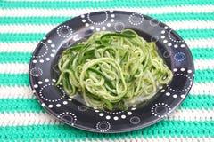 Salade des concombres image libre de droits