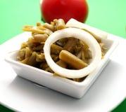 Salade des haricots Photo libre de droits