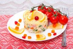 Salade des légumes Photographie stock libre de droits