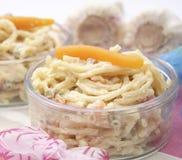 Salade des nouilles Photos stock