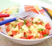 Salade des tomates Photos stock