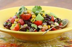 Salade du sud-ouest de haricot noir Photo libre de droits