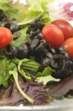 Salade en Brood Royalty-vrije Stock Foto
