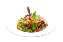 Salade et avocat de potiron image stock