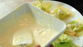 Salade et mayonnaise