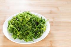 Salade faite fraîche de varech Photographie stock