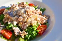 salade faite maison Photos libres de droits
