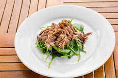 Salade Foip de Volaille Royalty Free Stock Image
