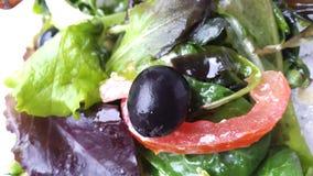 Salade fraîche avec les légumes frais Photographie stock libre de droits