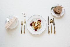 Salade fraîche d'organique Photo libre de droits