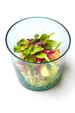 Salade fraîche de fruits de mer Photographie stock libre de droits