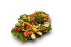 Salade fraîche de jardin Photographie stock