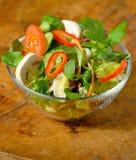 Salade fraîche savoureuse Photos stock