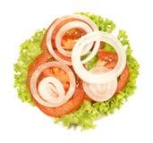 Salade fra?che photo libre de droits