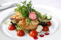 Salade gastronome Images libres de droits