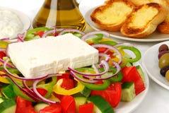 Salade grecque photo libre de droits