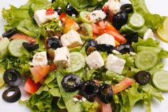Salade grecque Image libre de droits