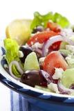 Salade grecque Photographie stock libre de droits