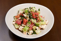 Salade grecque Photographie stock