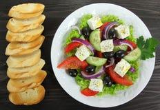 Salade grecque photos stock
