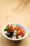 Salade grecque fraîche Image stock