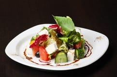 Salade grecque ou italienne Photographie stock libre de droits