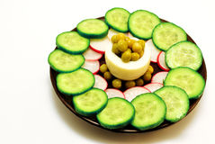 Salade gugilme Stock Foto's