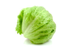 Salade 'Iceberg' fraîche Images stock