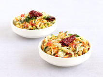 Salade indienne du sud Kosambari Image stock