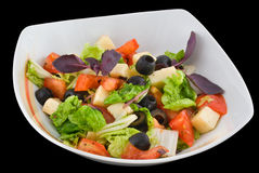 Salade italienne Photographie stock