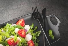 Salade légère de ressort images libres de droits