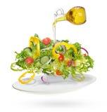 Salade légère des légumes frais Photo libre de droits