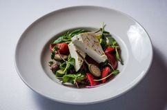 Salade La Greco royalty-vrije stock foto's