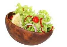 Salade latérale Images libres de droits