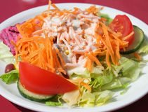 Salade latérale Image stock