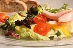 Salade mélangée fraîche de légumes Images stock