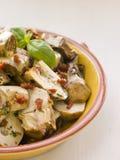Salade marinée d'artichaut de chéri photographie stock
