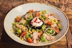 Salade met groenten Stock Fotografie
