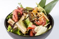 Salade met ingelegde octopus Royalty-vrije Stock Foto