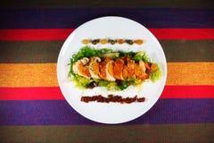 Salade met Kip Royalty-vrije Stock Foto's