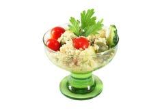 Salade met kouskous Royalty-vrije Stock Afbeelding