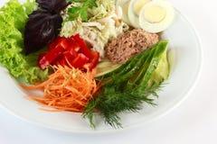 Salade met tonijn Royalty-vrije Stock Fotografie