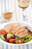 Salade met vlees Stock Afbeeldingen