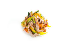 Salade met zeevruchten Royalty-vrije Stock Afbeeldingen